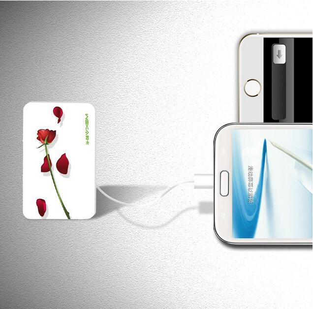 Easy carry promotional gift 2000mAh ultra thin credit card power bank
