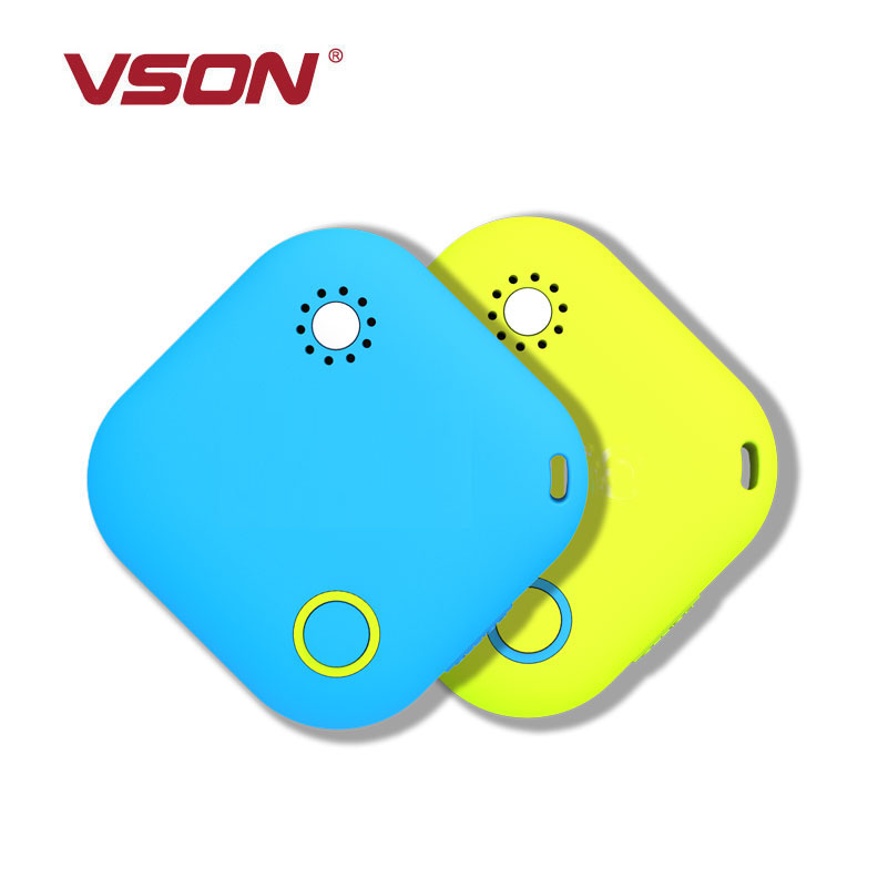 VSON bluetooth 4.0 wireless anti lost and thermometers wireless key chain object finder& tracking device